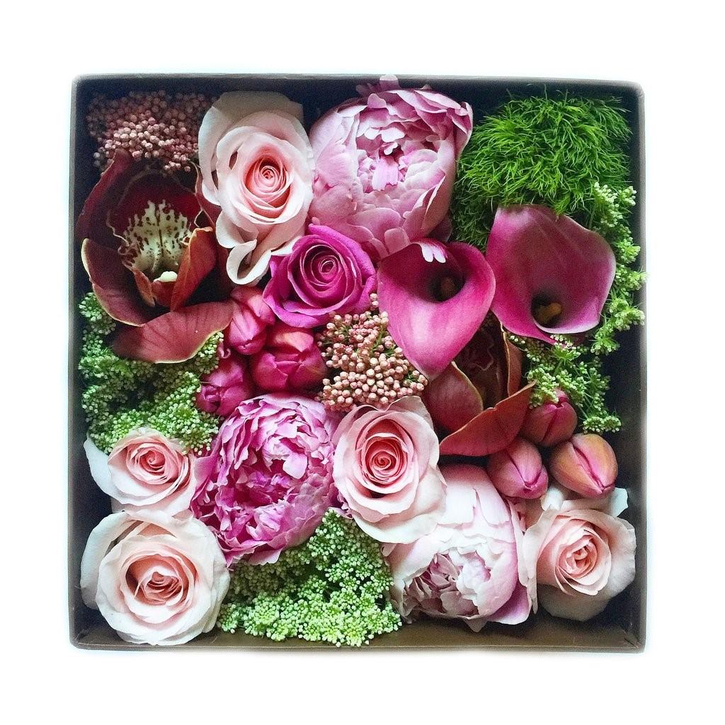 Box cadeau pour la Saint-Valentin.
