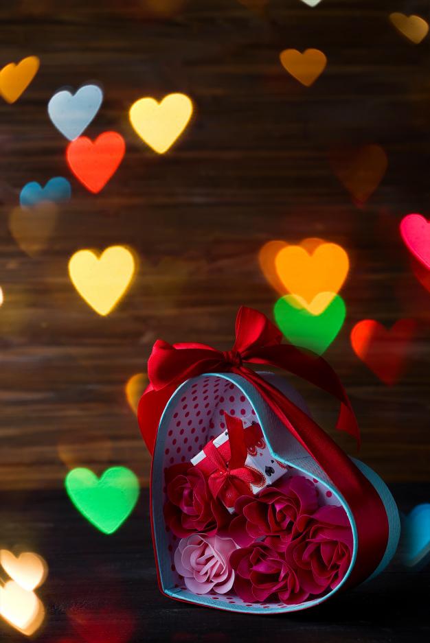 Boîte dans la boîte de la Saint-Valentin