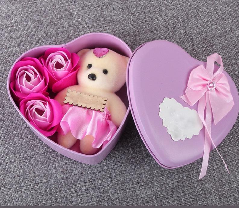 Coffret cadeau pour les petits pour la Saint Valentin