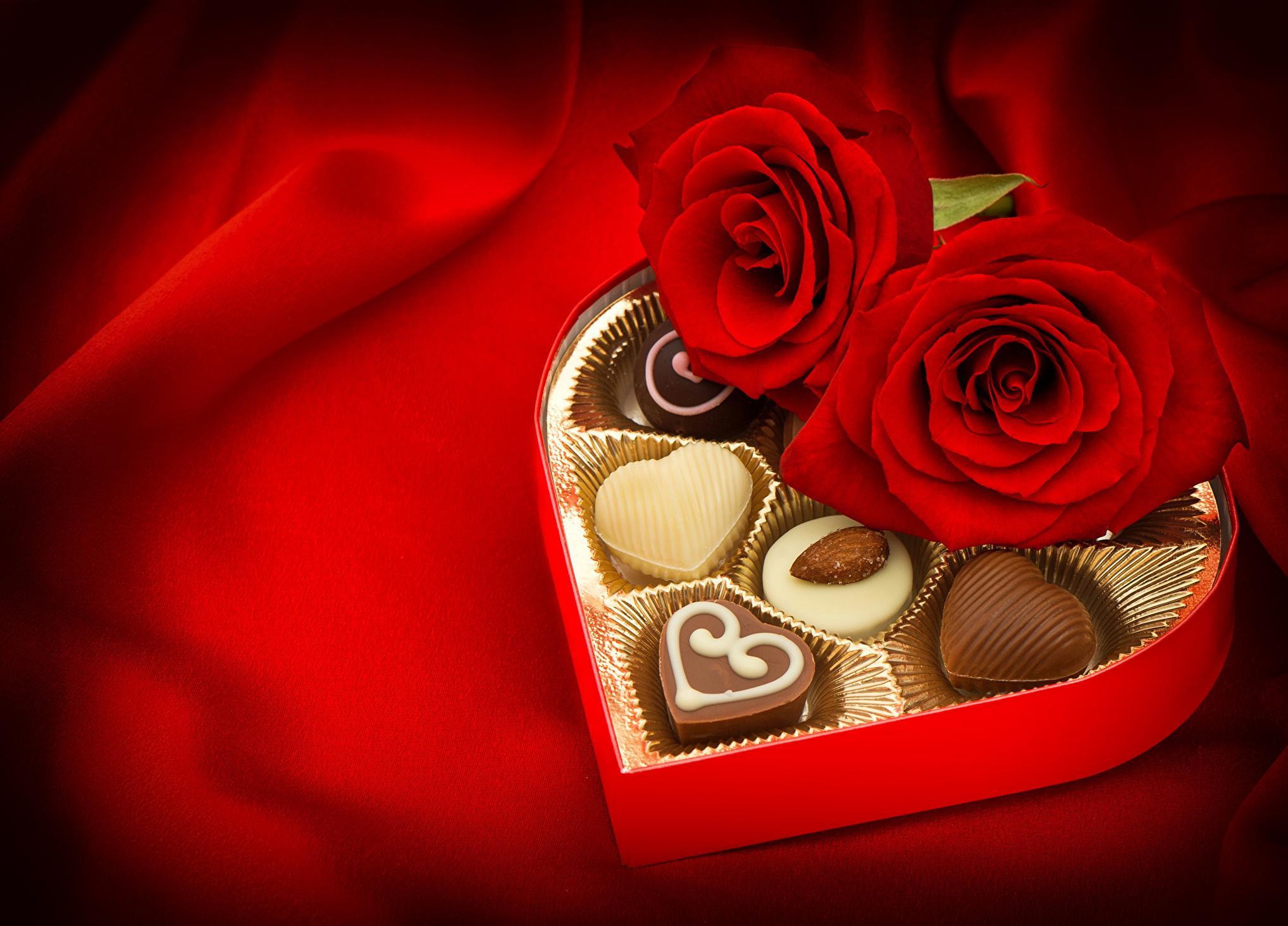 Belle boîte de chocolat pour la Saint Valentin