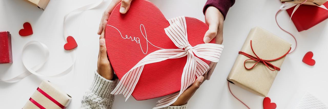 L`amour dans un box de la Saint Valentin