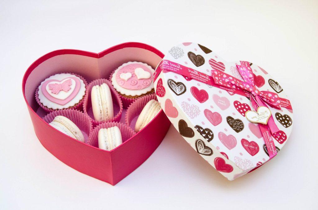 Une boîte pleine d'amour pour la Saint Valentin