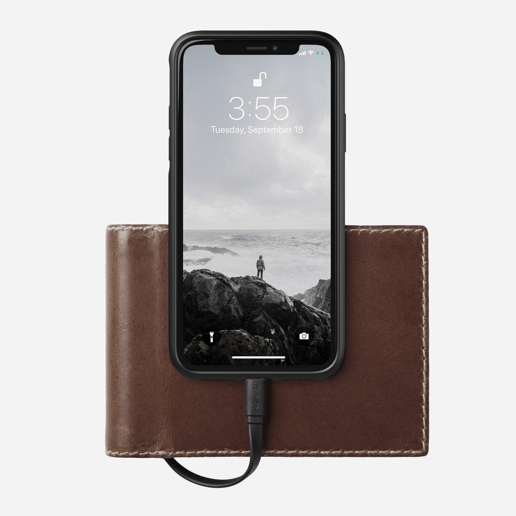 Portefeuille avec batterie.