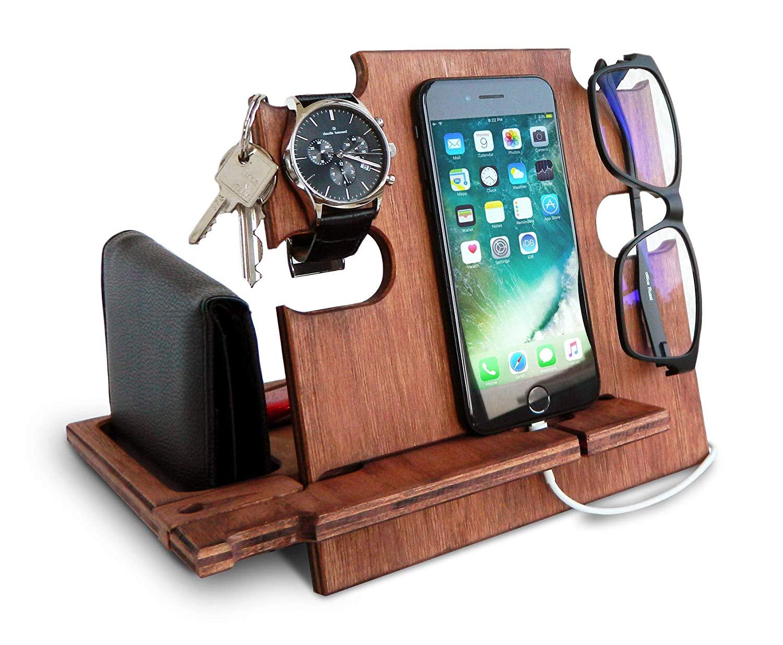 Organisateur pour lunettes, portefeuille, smartphone et plus.