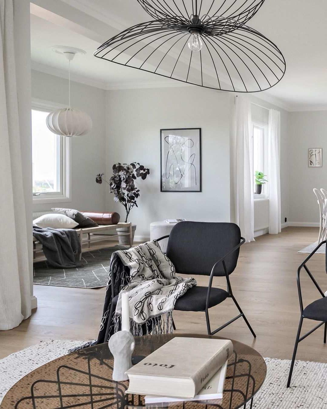 Salon moderne et élégant.