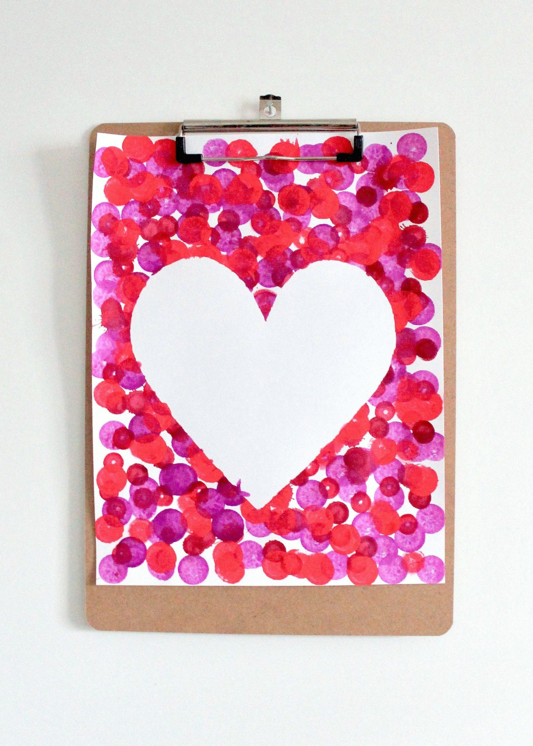 Carte DIY de Saint-Valentin pour lui.
