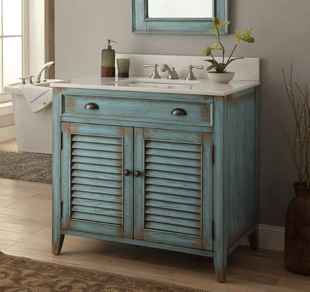 Make bathroom furniture in a few easy steps.