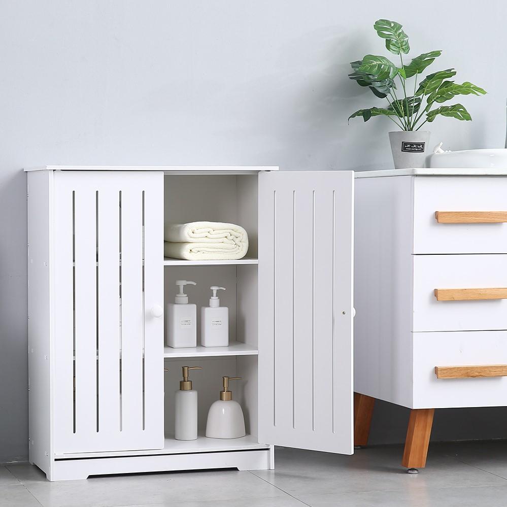 Fabriquer un meuble pour la salle de bains en quelquel étapes faciles.
