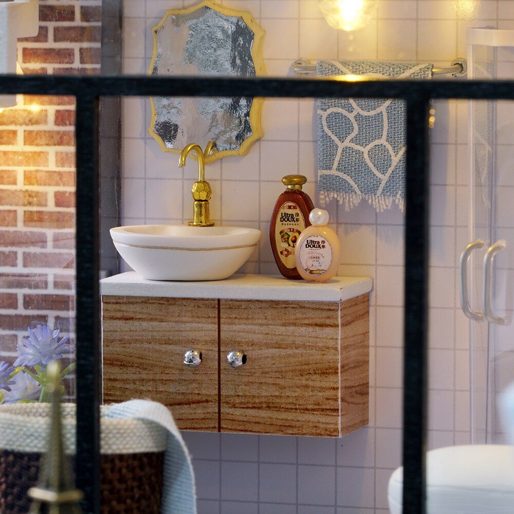 Ffabriquer un meuble pour la salle de bains.