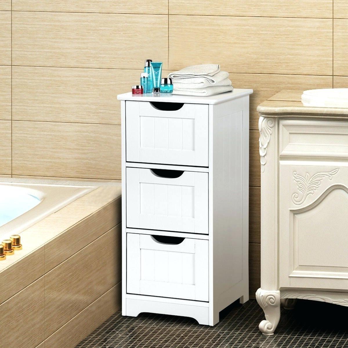 Commode de salle de bains DIY.