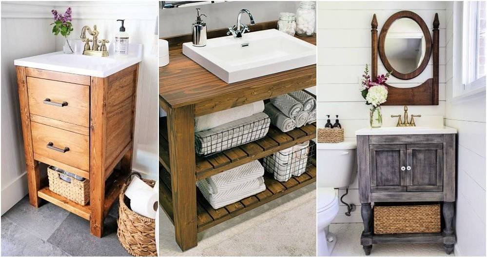 Furniture for the DIY bathroom.