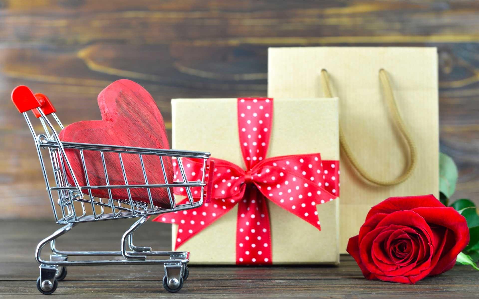 Cadeau pour la fête des amoureux.