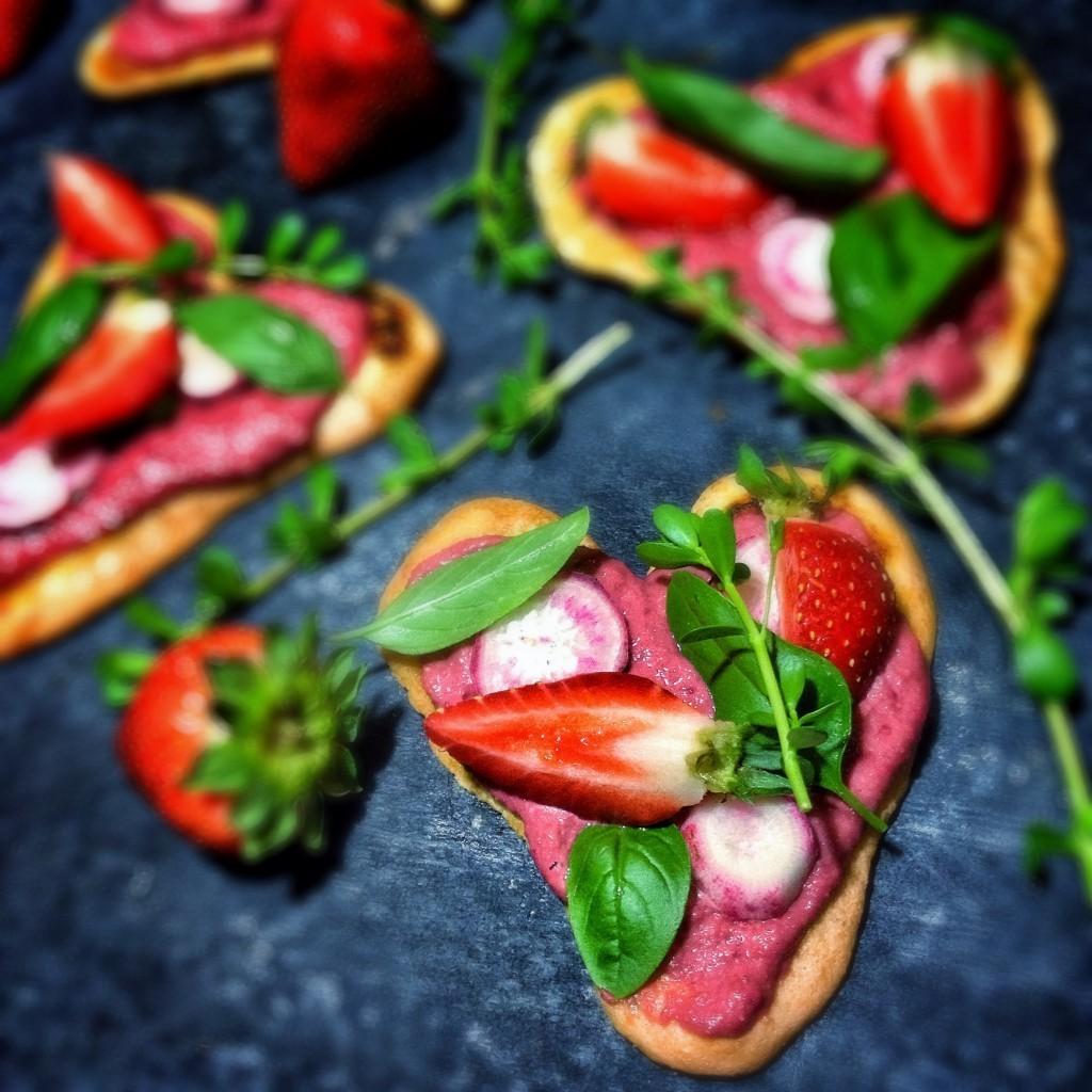 Idées de repas pour la Saint-Valentin.