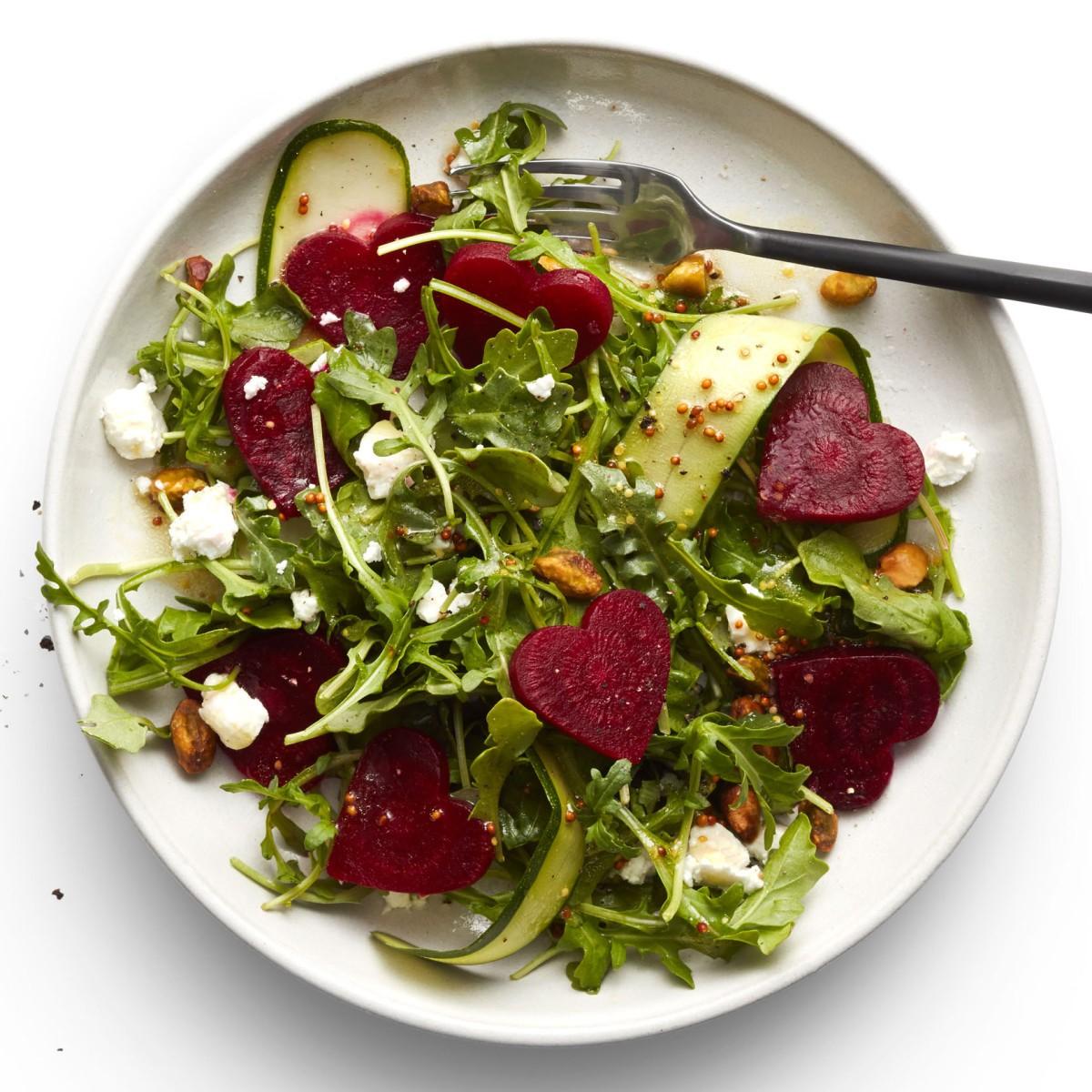 Salade romantique.