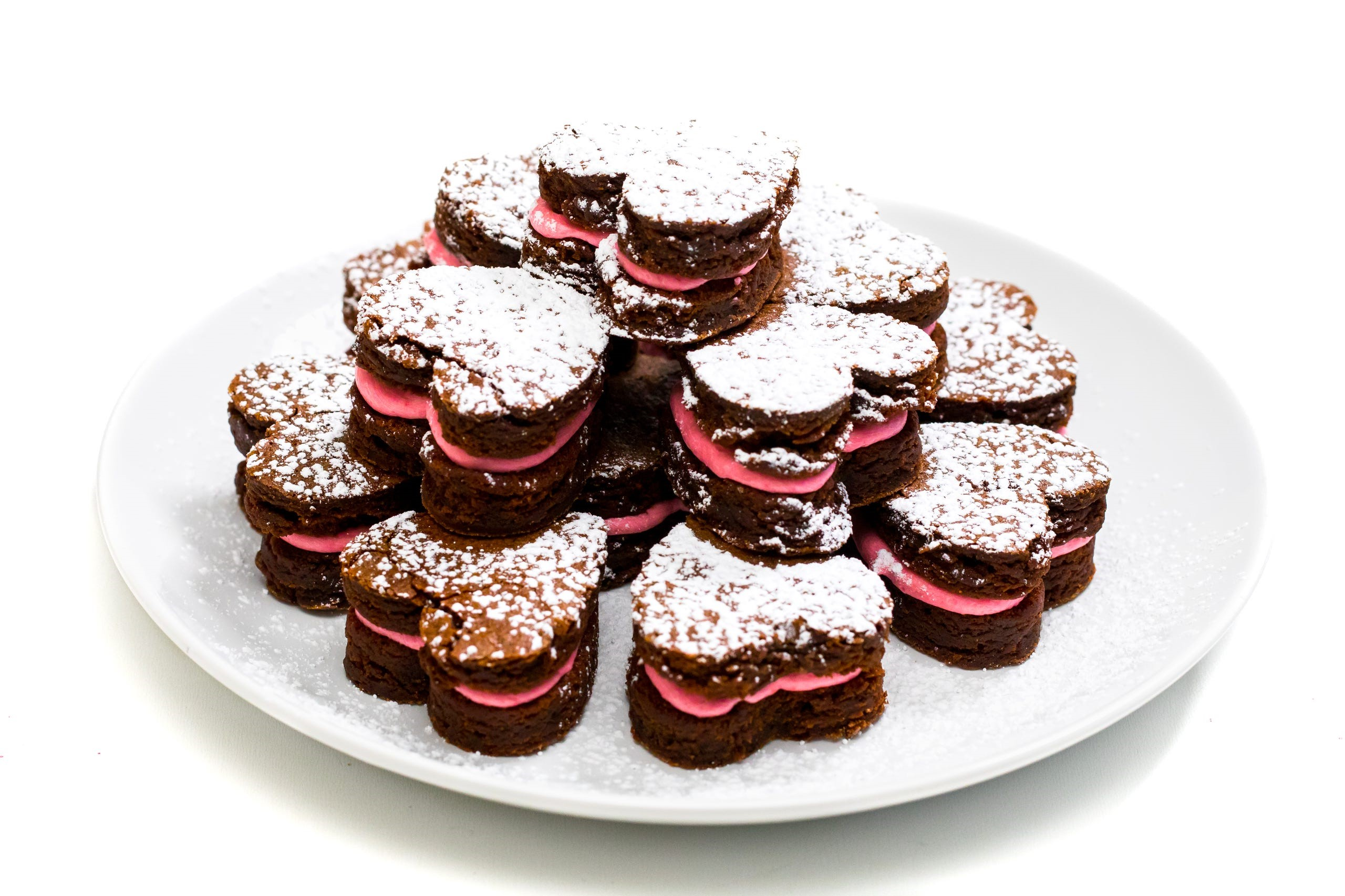 Brownies romantiques.