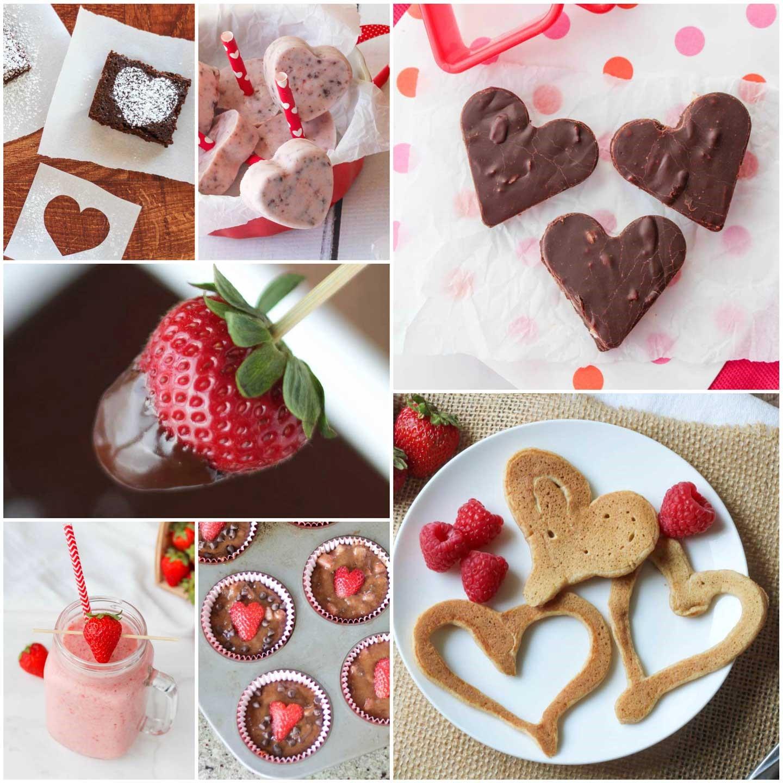 Idées de repas pour la Saint-Valentin: dessert facile à préparer.