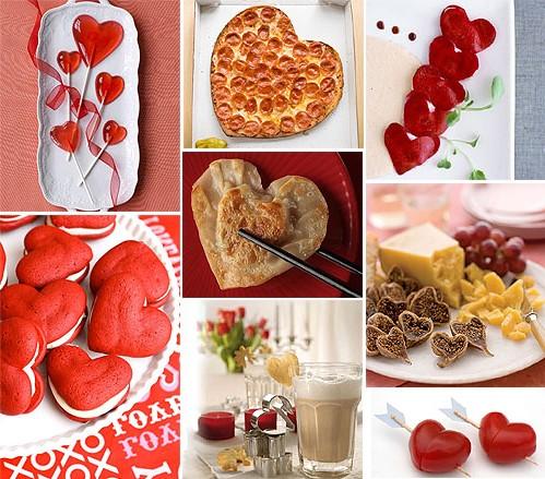 Idées de repas pour la Saint-Valentin faciles à préparer.