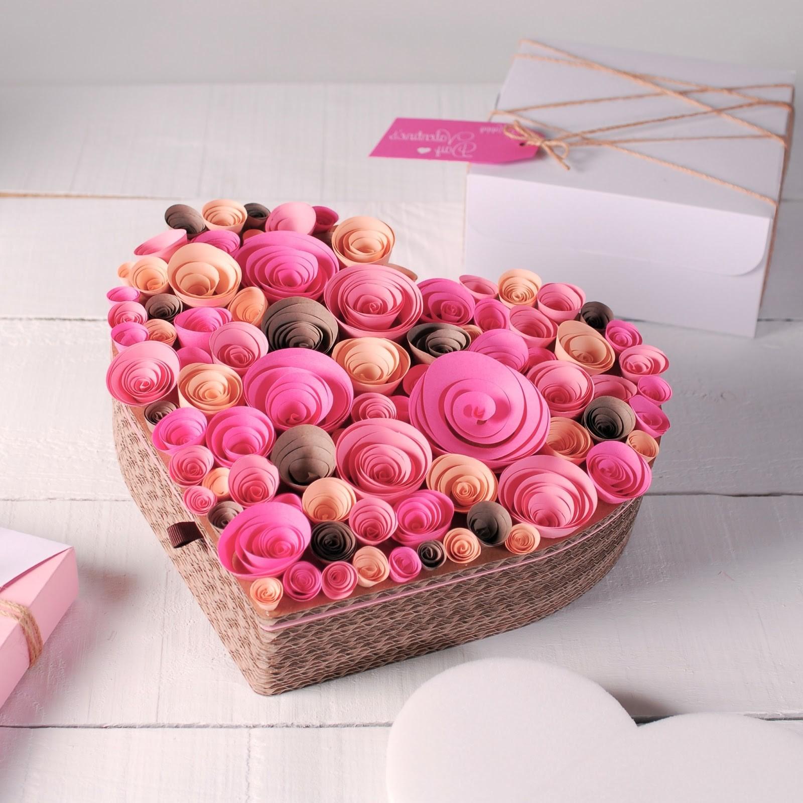 Emballage romantique.