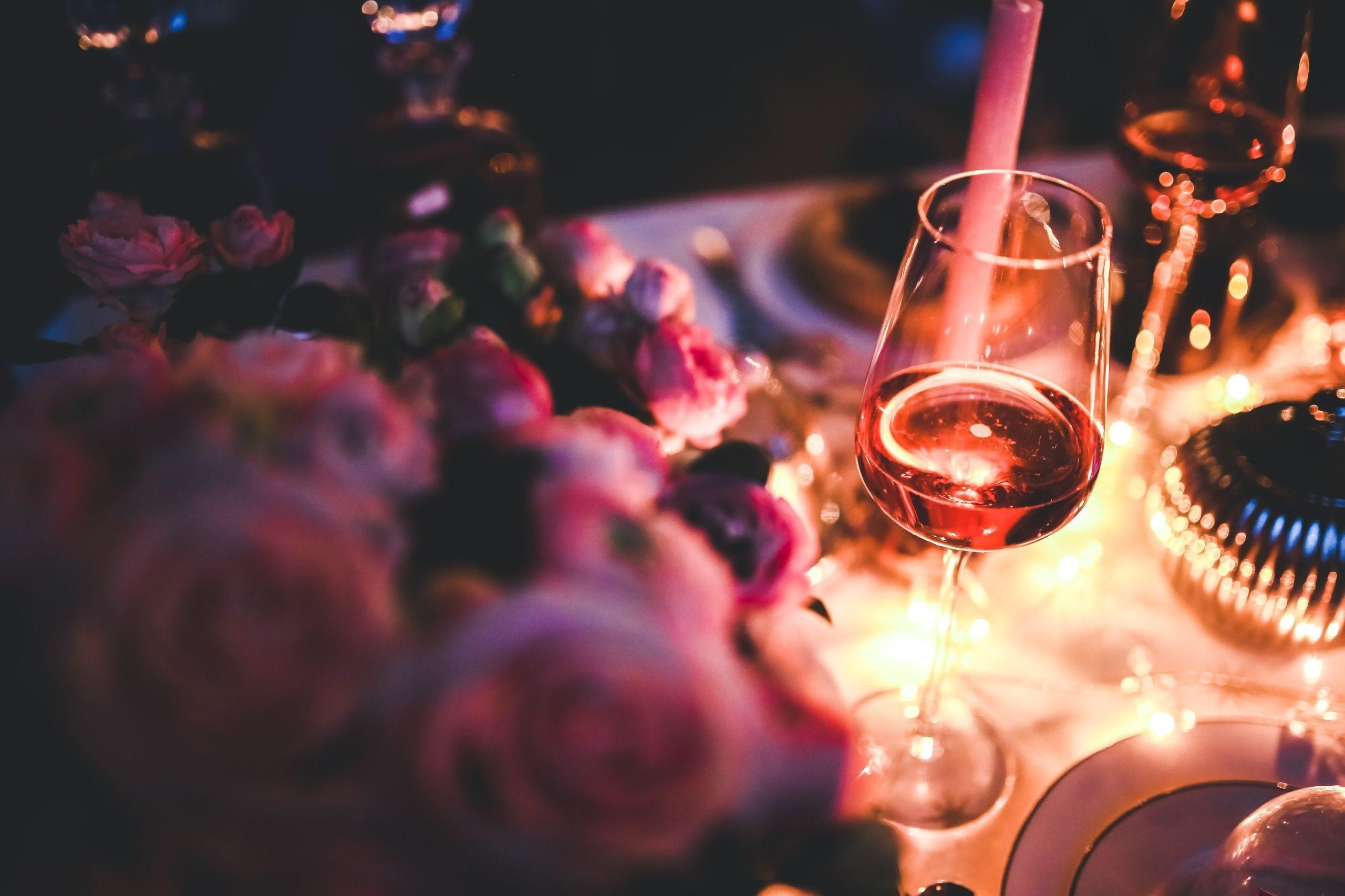Atmosphère romantique.