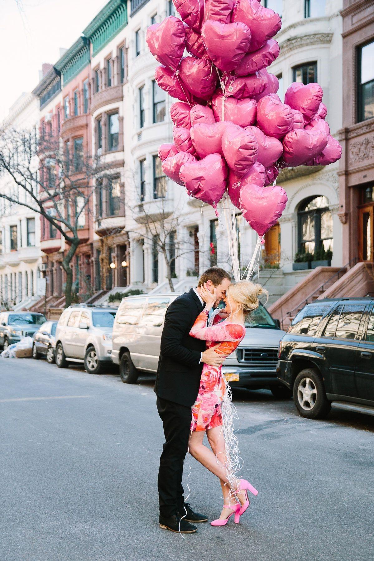 Surprise romantique.