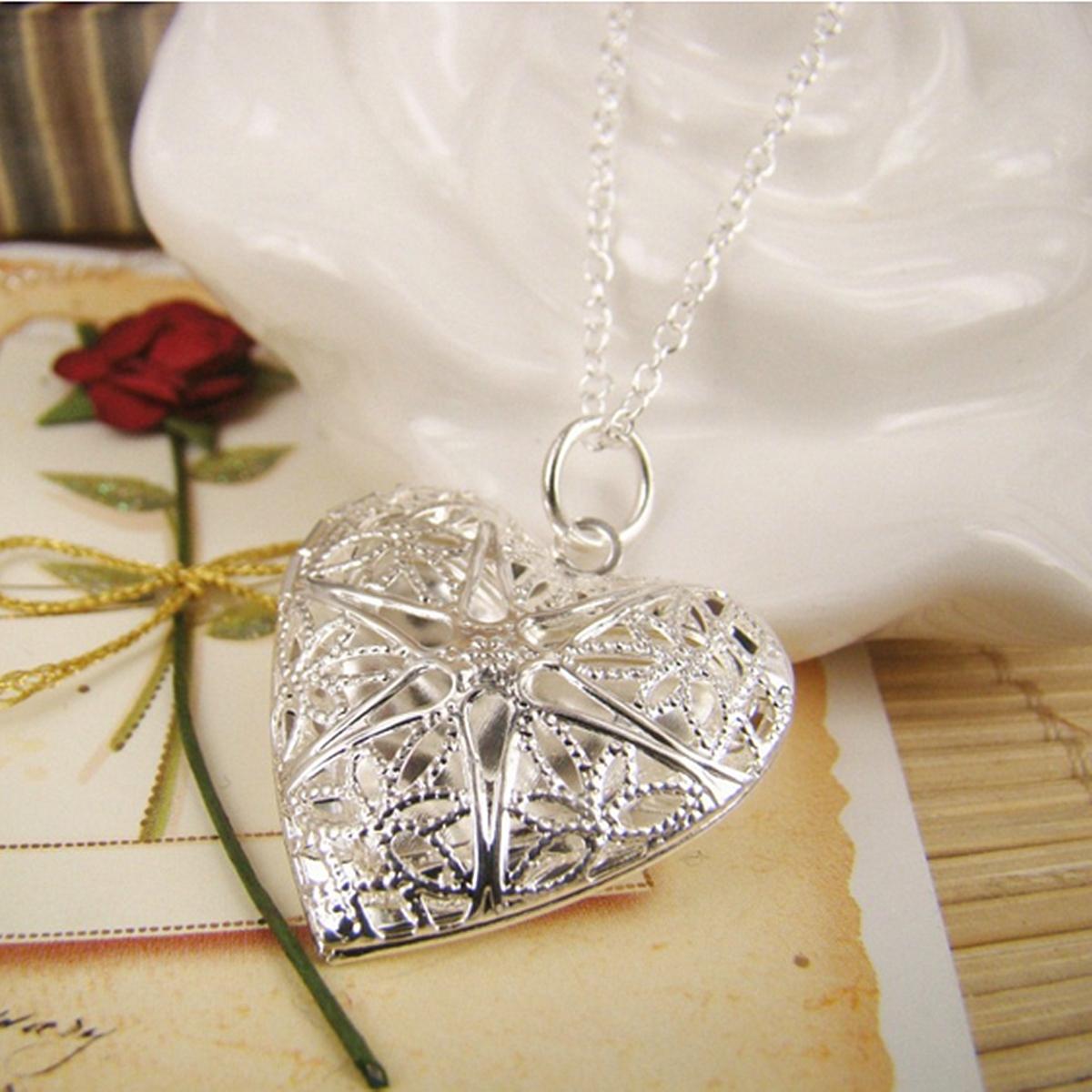 Le ollier en forme de coeur Bijoux Saint Valentin