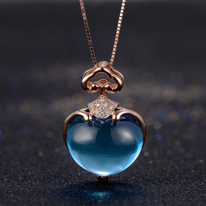 Le collier topaze bijoux Saint Valentin