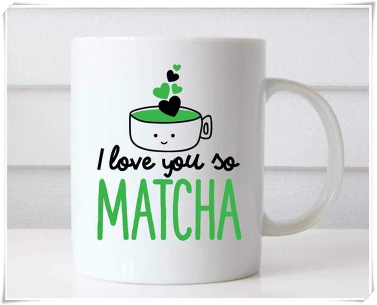 Mug amusant et romantique.