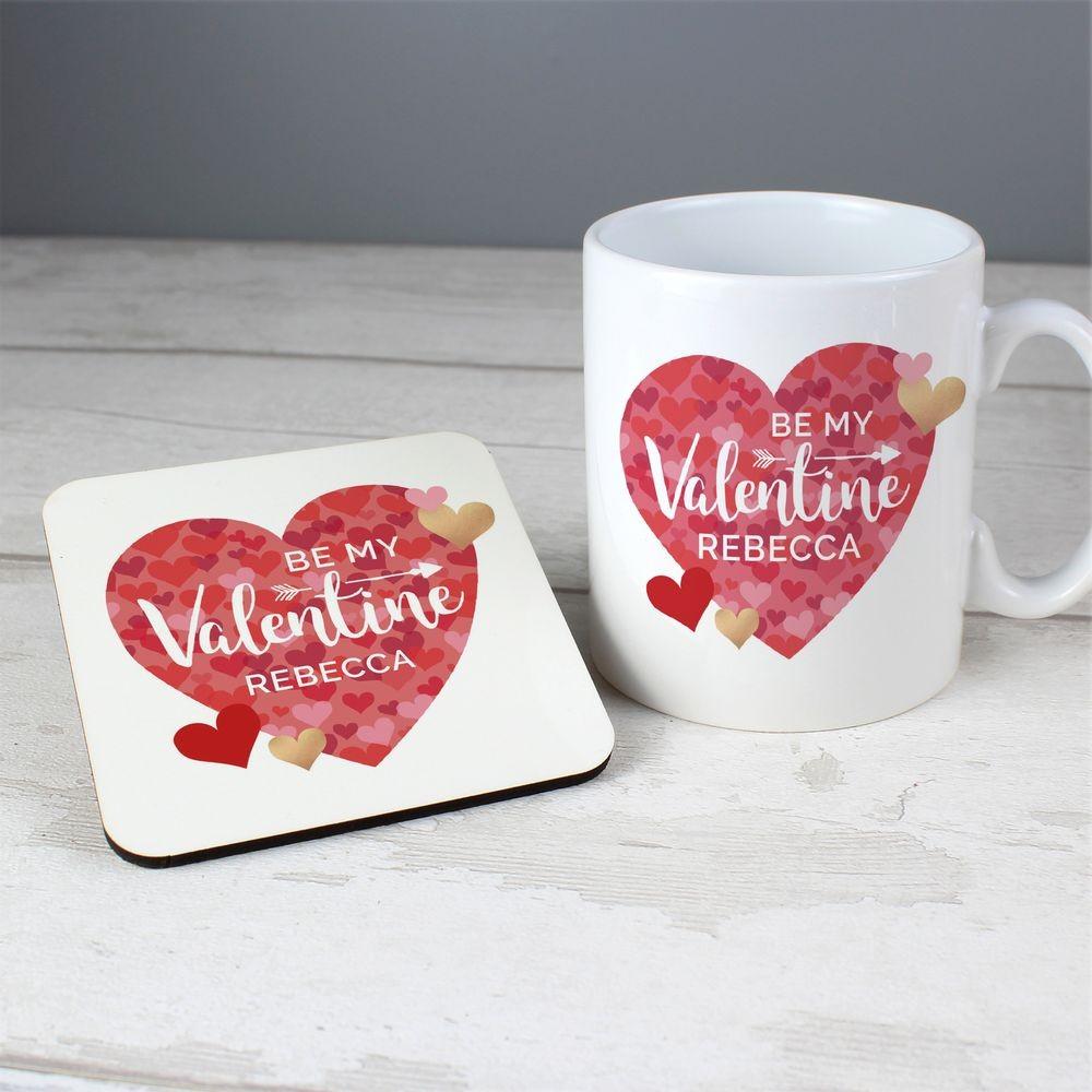 Tasse romantique pour la Saint Valentin.