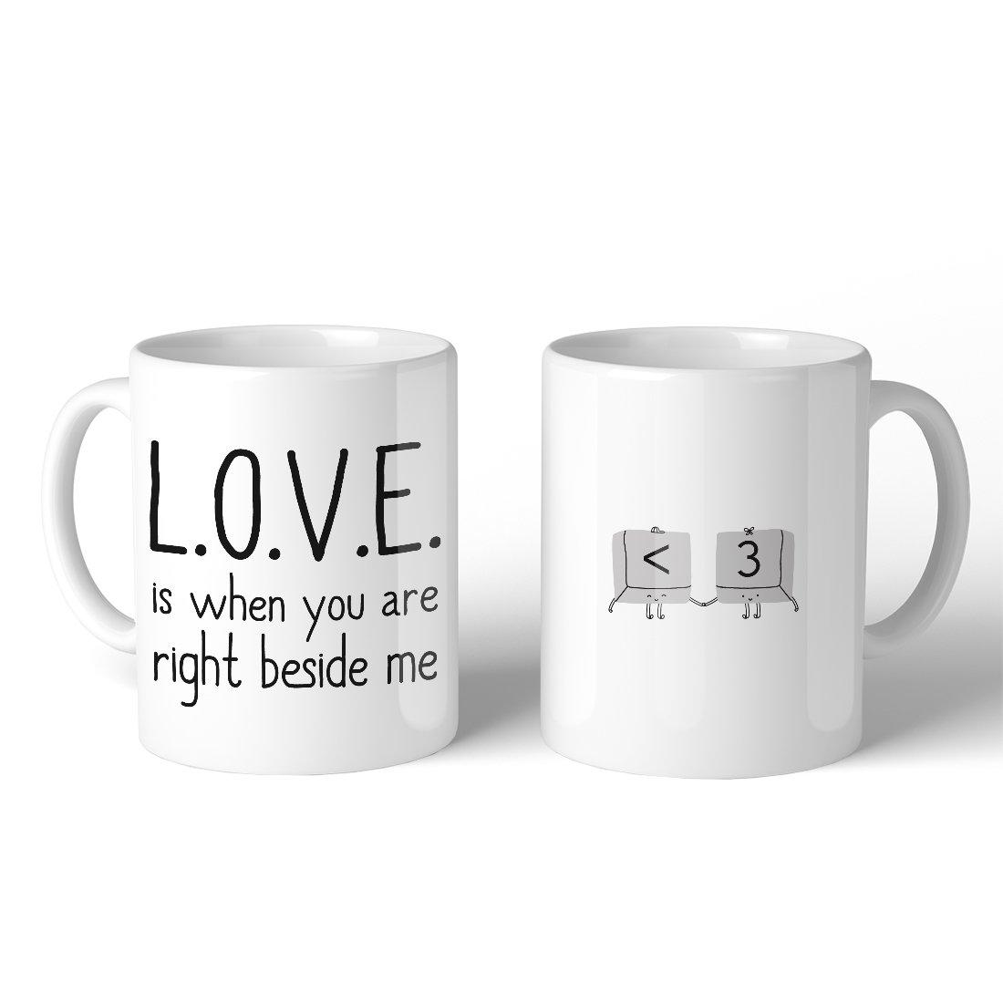 Tasse romantique.