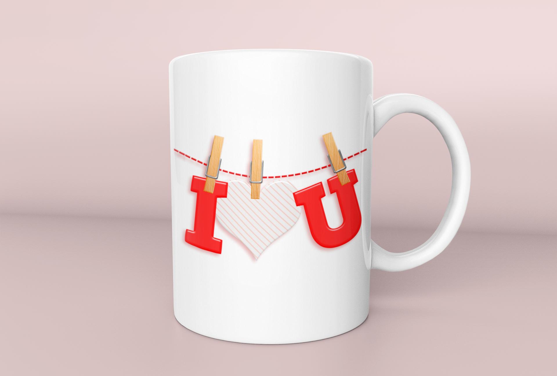 Tasse pour la Saint Valentin.