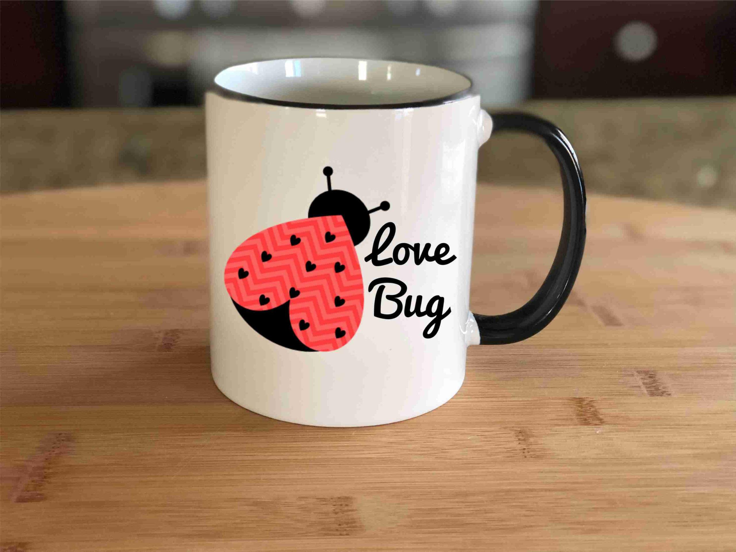 Tasse romantique pour votre bien aimé.