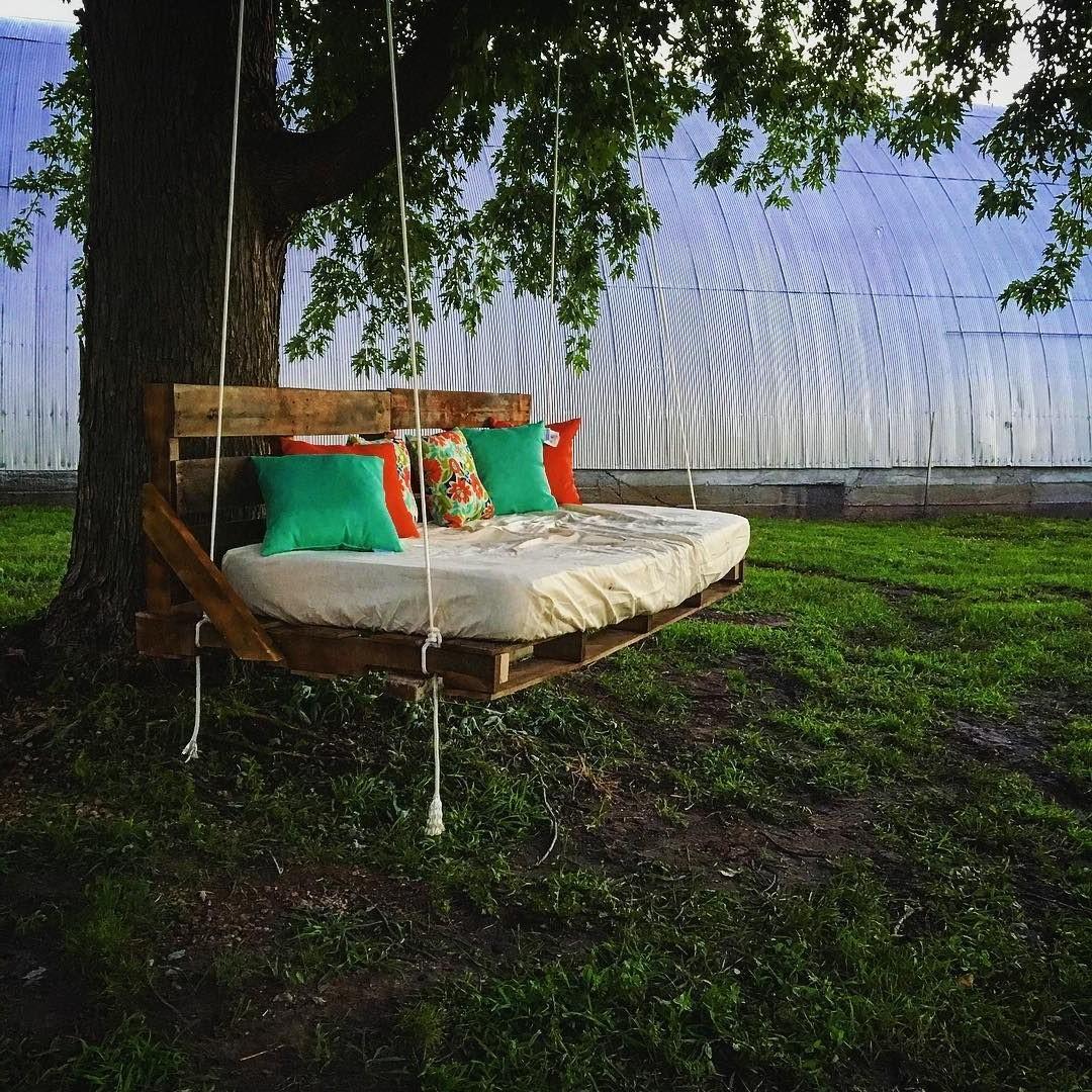 Chaise de balançoire DIY.