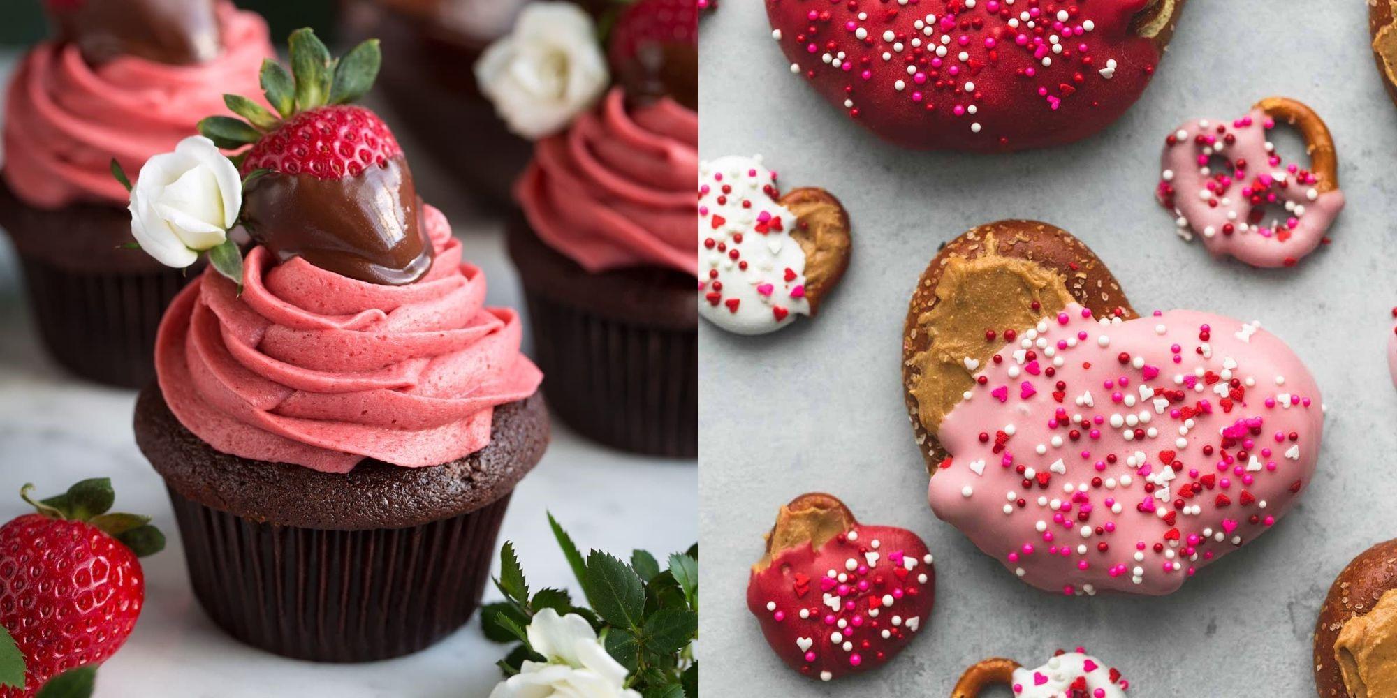 Desserts romantiques.