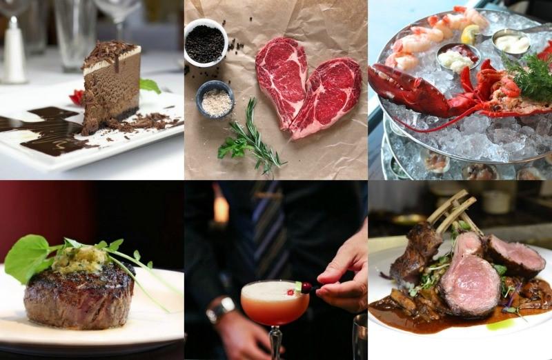 Repas romantique facile à préparer.