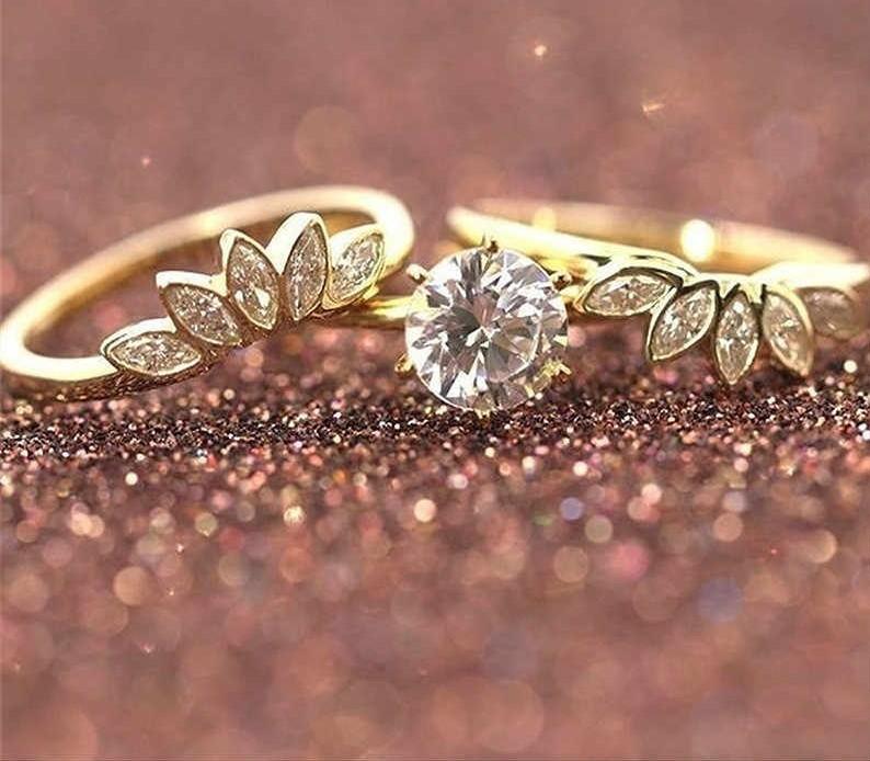 Un Bague en zircone Bijoux Saint Valentin