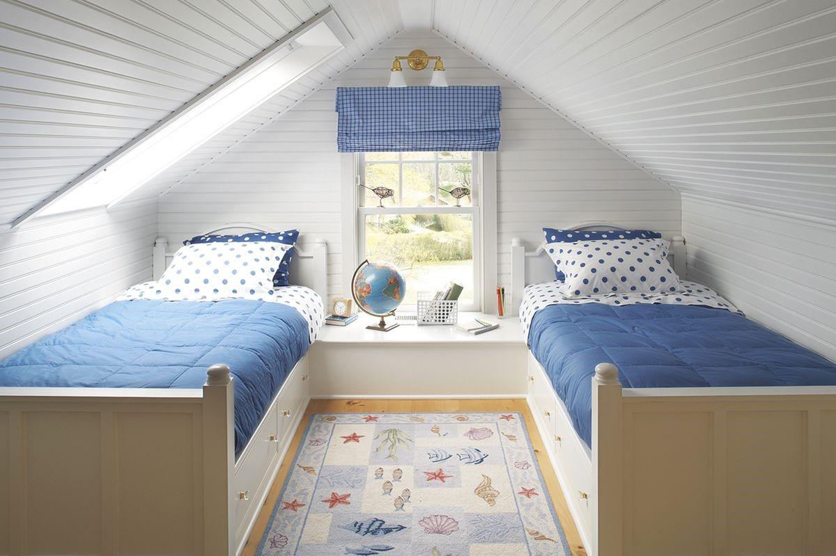 La chambre d'enfant sous combles peut devenir l'endroit le plus cool de la maison.