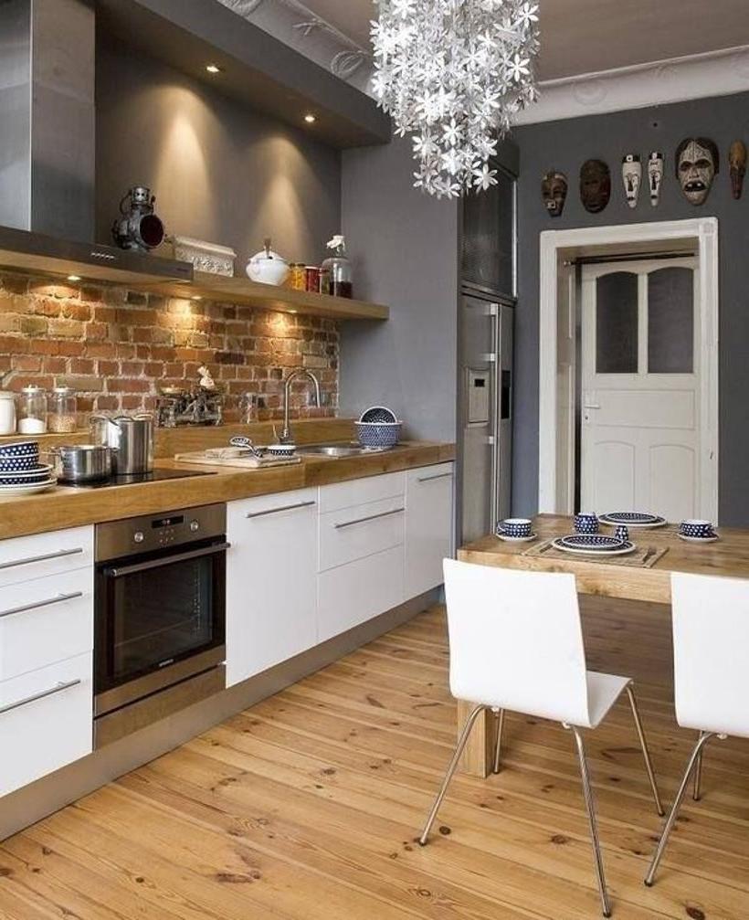 Confort et chaleur dans une cuisine moderne