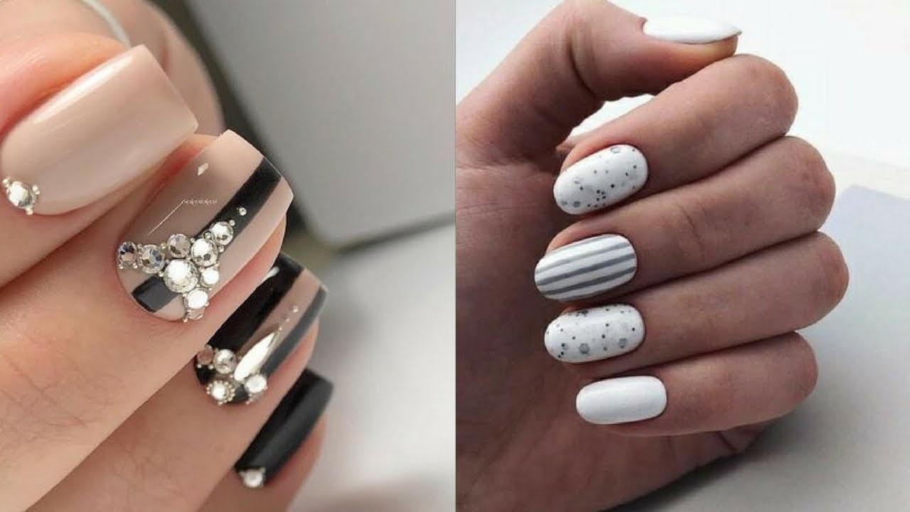 101 Idees Pour Une Deco D Ongles Facile A Faire A La Maison Manucure Mode Et Beaute Zenidees