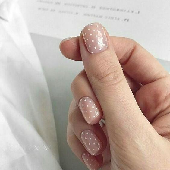 Déco d'ongles facile à réaliser.