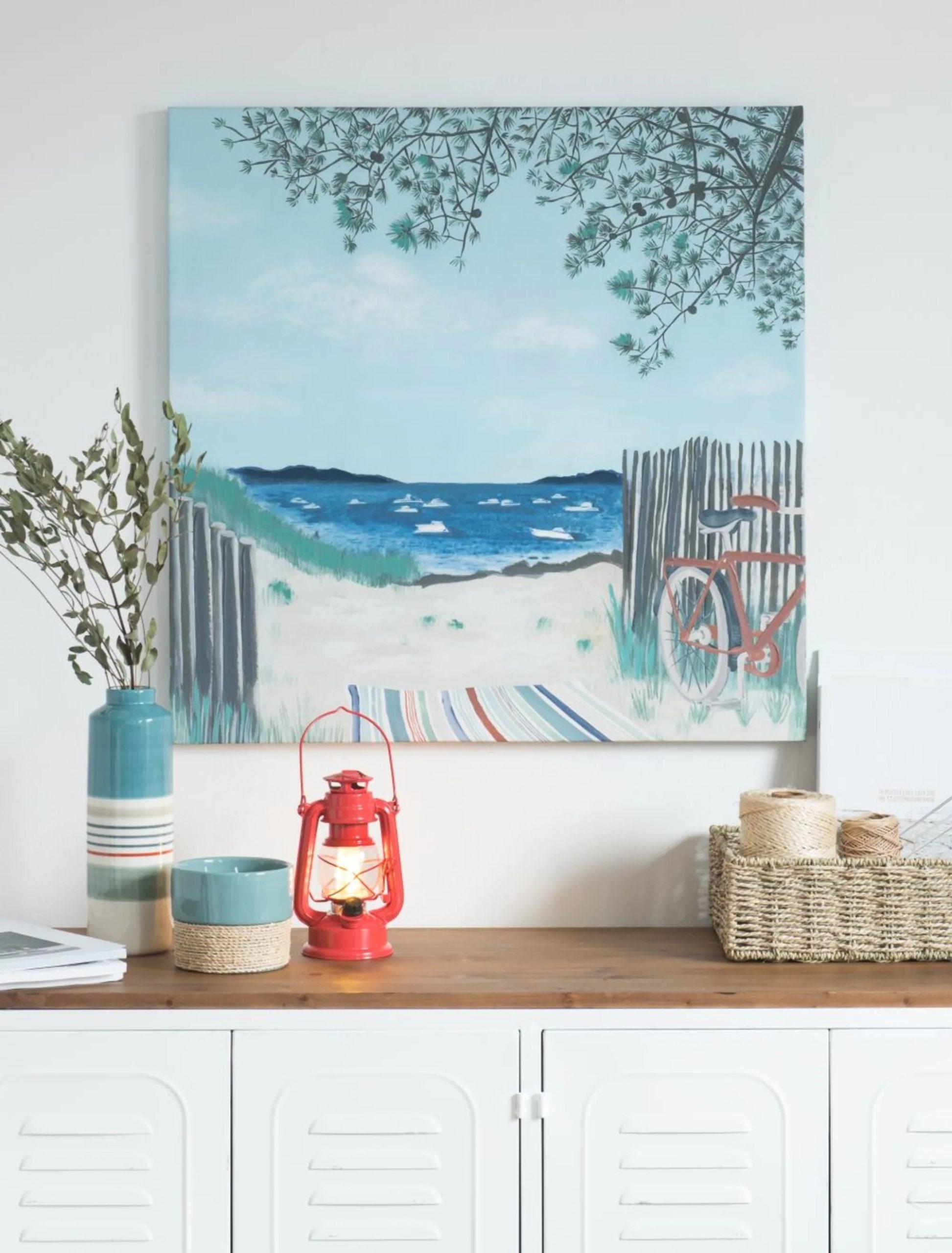 Décomural Maison du Monde - Peinture marine