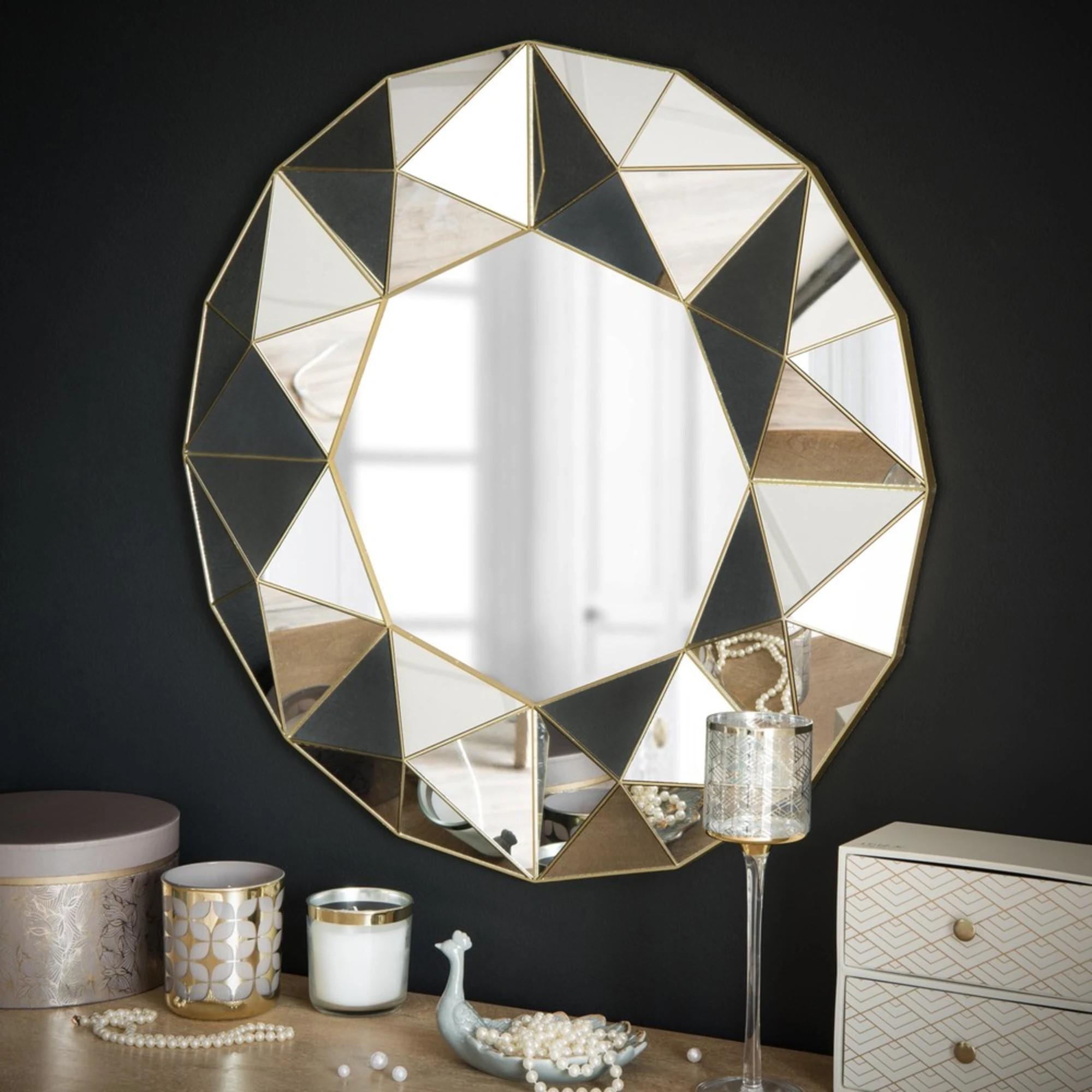 Déco murale Maison du Monde - idée de miroir