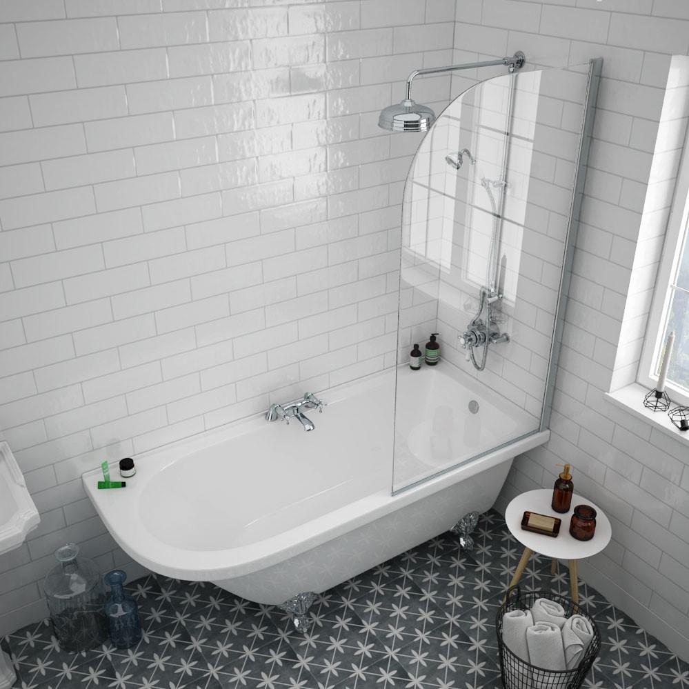 Douchette dans la salle de bains.