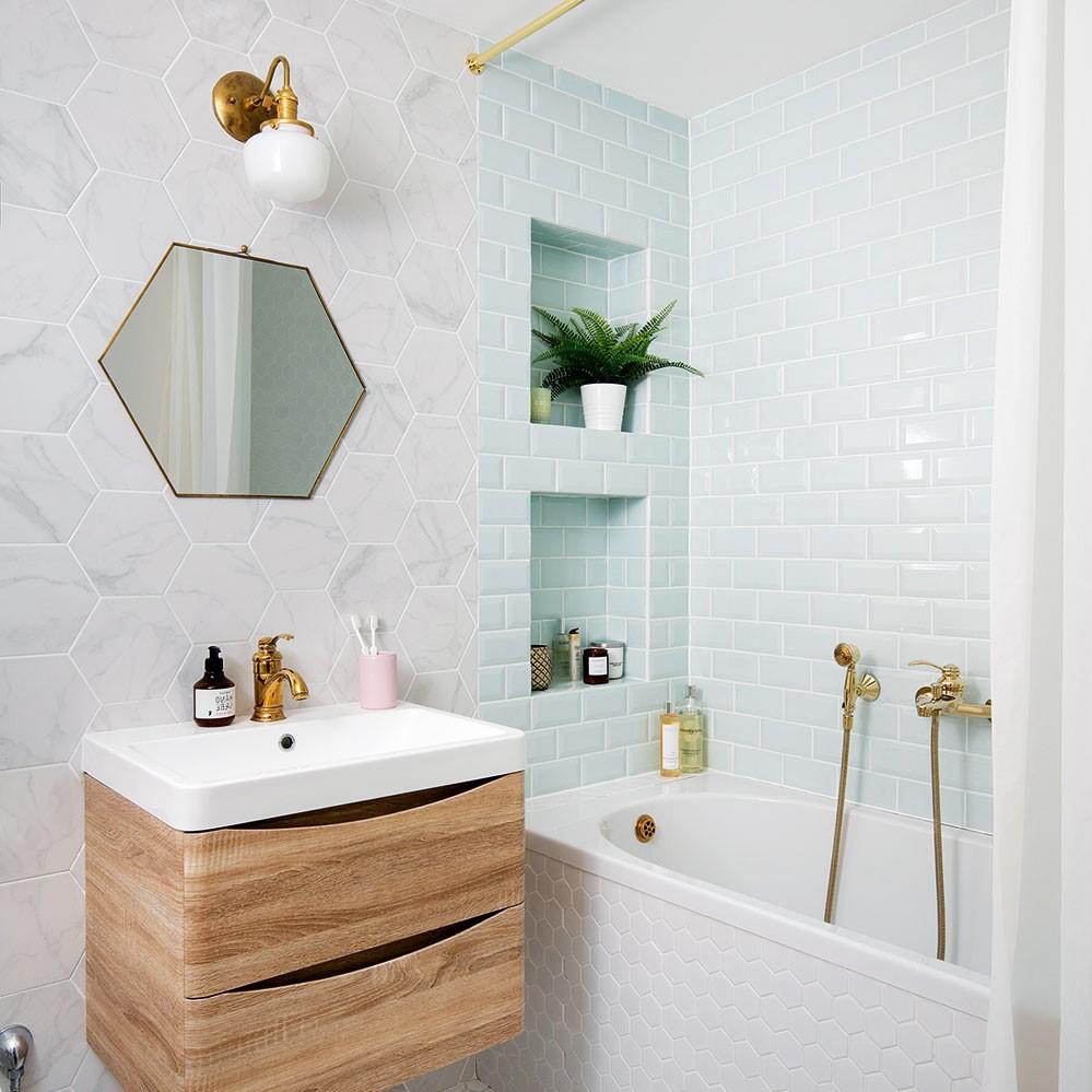 Choisissez un douche à main pour plus de flexibilité.