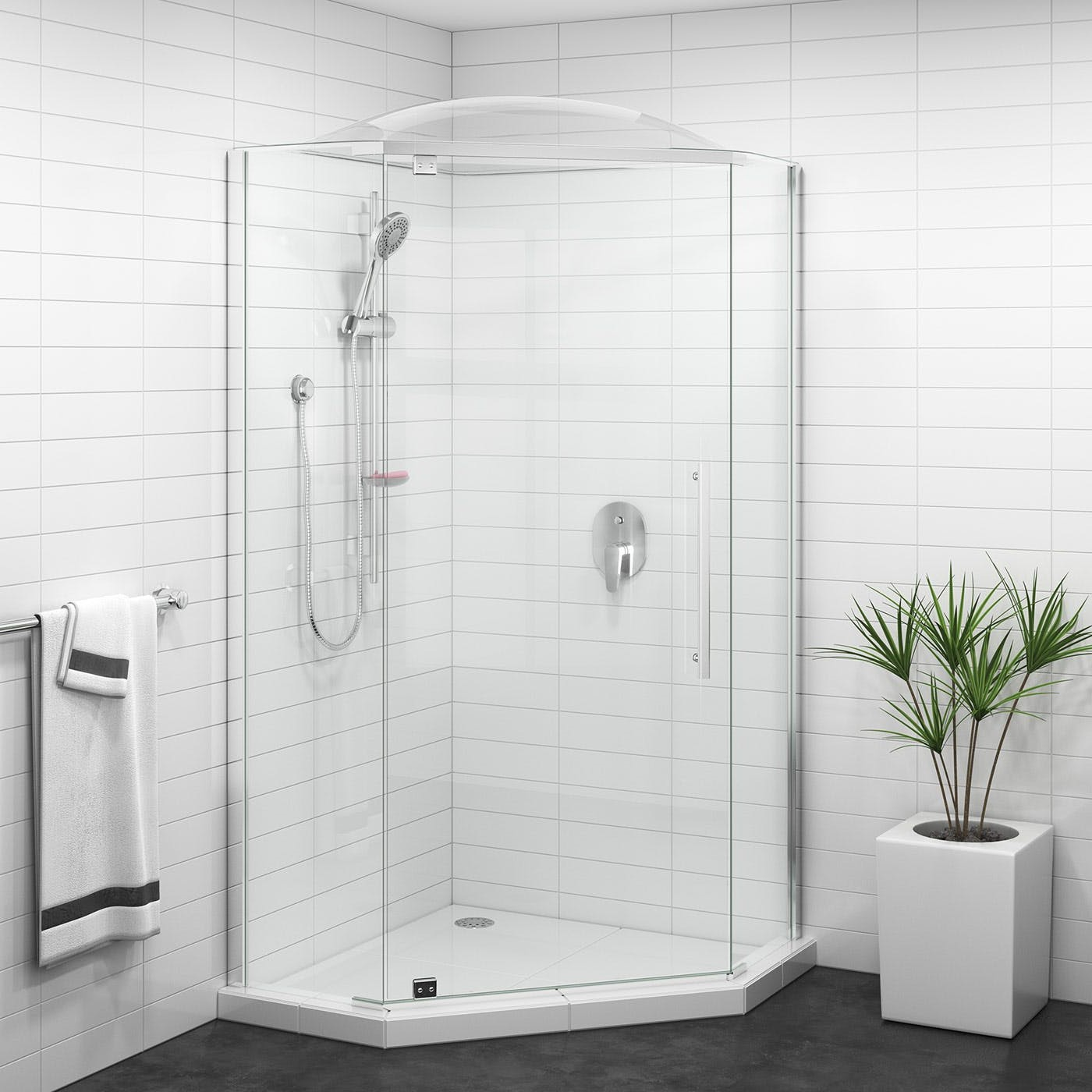 La douchette est le choix idéal pour votre salle de bains.