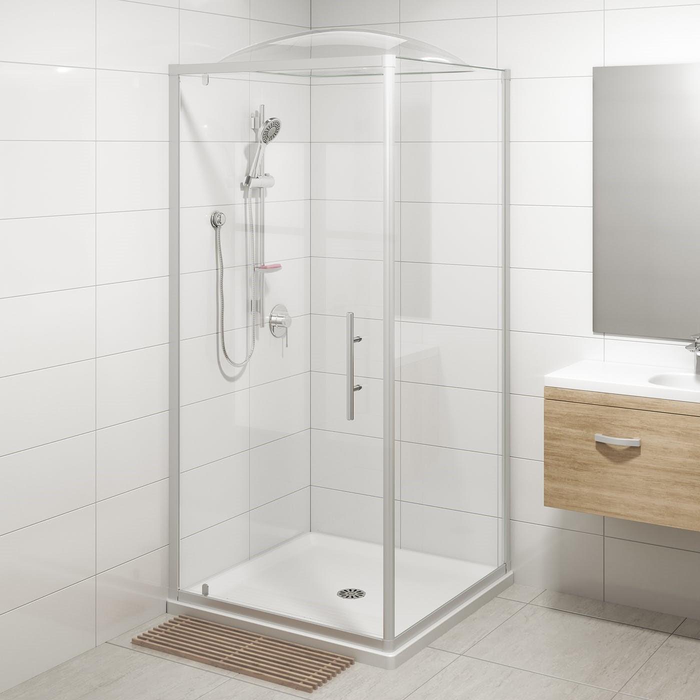 Une douchette dans la salle de bains est la meilleure solution.