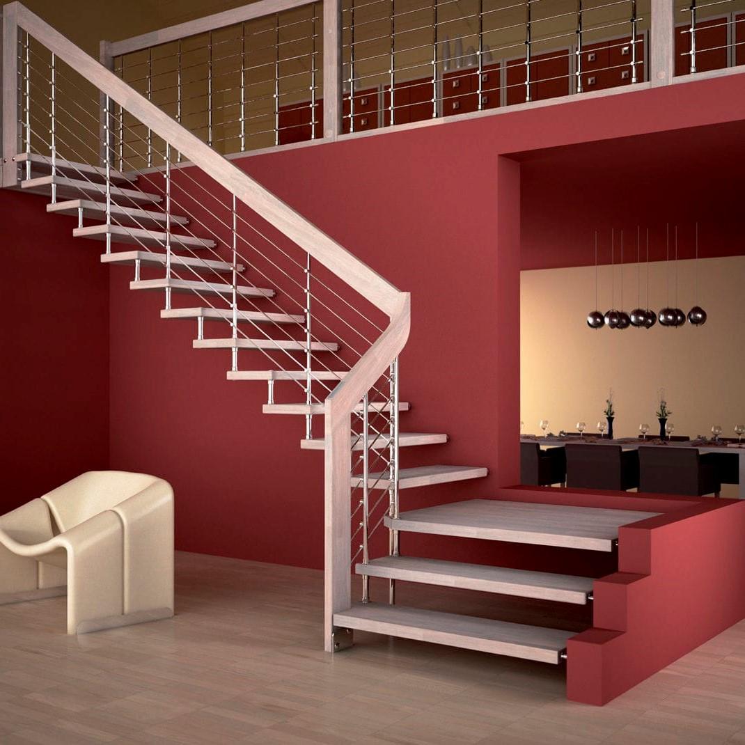 Projet d'escalier moderne pour votre maison.