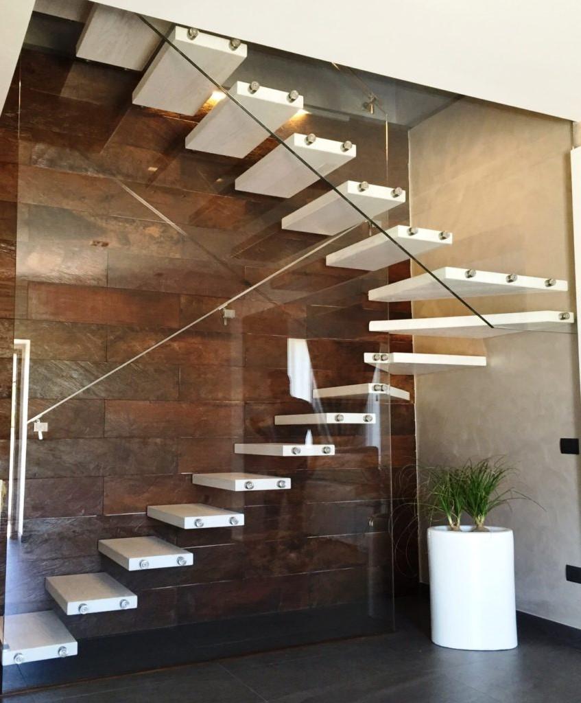 Choisissez une conception moderne pour votre escalier.