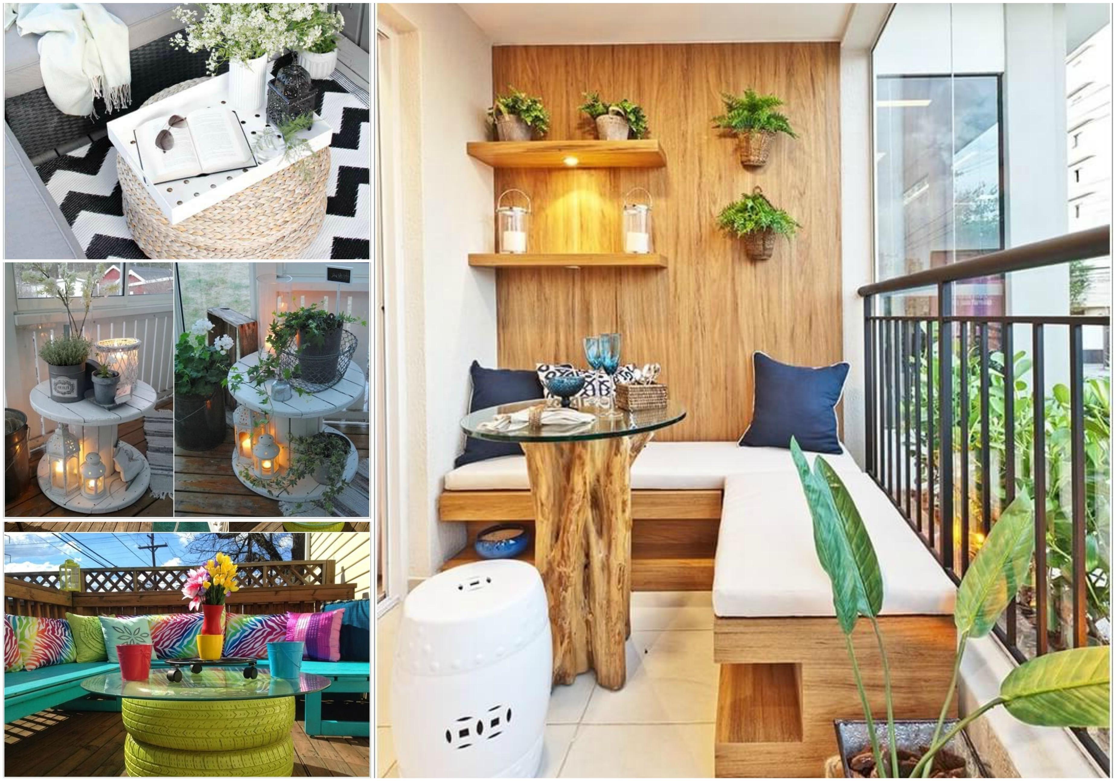 Quatre idées pour meubler une terrasse de palettes