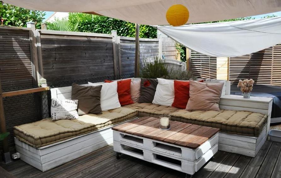 Idée pour meubler une terrasse