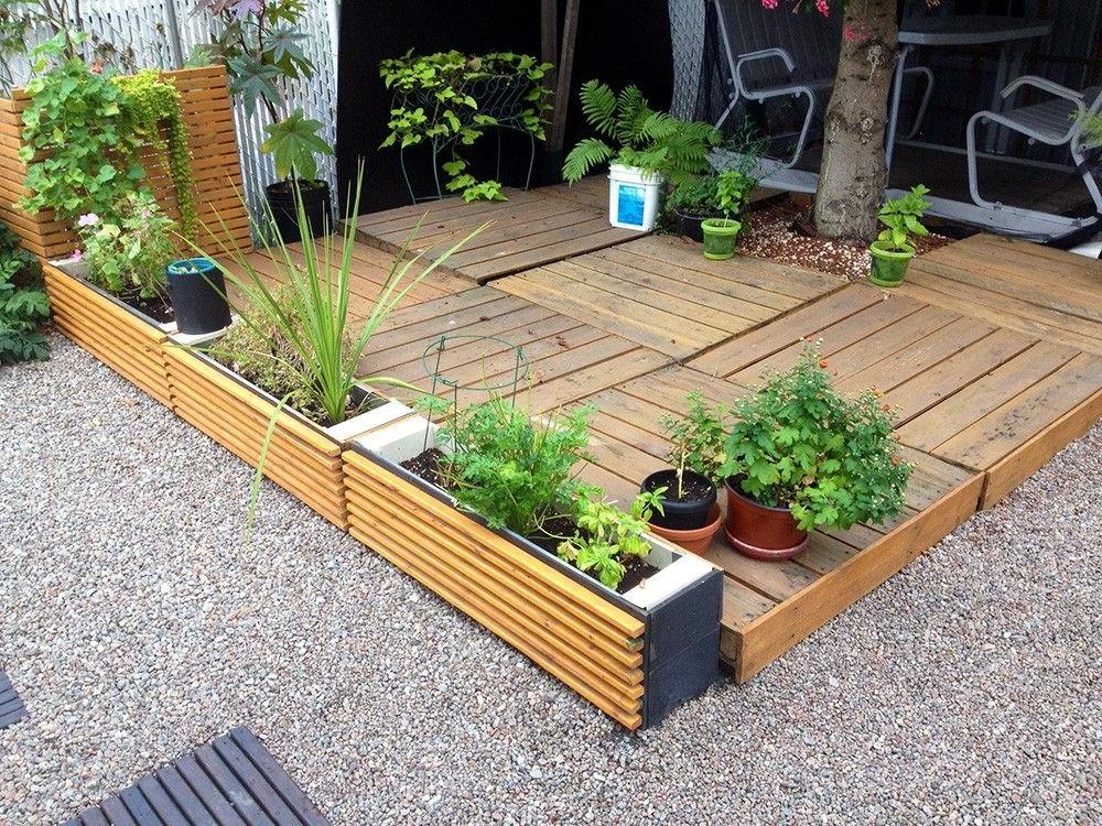 Comment faire un plancher de terrasse en bois palettes
